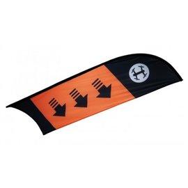 TBS - Racing Flag Checkpoint / Curve (Orange)