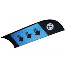 TBS - Racing Flag Checkpoint / Curve (Blue)