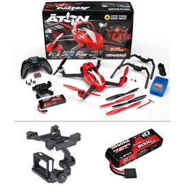 Traxxas Aton Plus Quadcopter with 5000mAh battery, charger, and 2 axis Gimbal