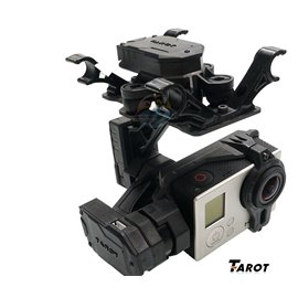 Tarot T4-3D 3-Axis FPV Brushless Camera Gimbal for Gopro Hero3 / GOpro3+ /Gopro4 TL3D01
