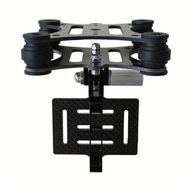 GoolRC Camera Mount with Anti Vibration Plate for Gopro Hero 3 3+ 4