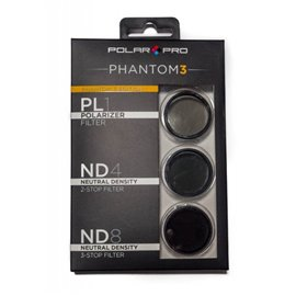 Polar Pro DJI Phantom 3 Filter 3-Pack
