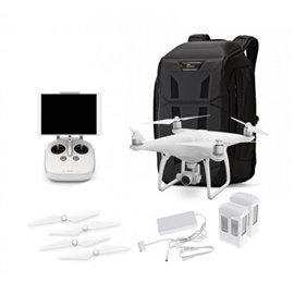 DJI Phantom 4 Pro Quadcopter w/Extra Battery and Lowepro BP 450 Backpack