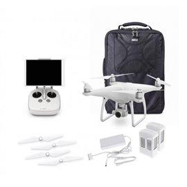 DJI Phantom 4 Pro Quadcopter w/Extra Battery and Think Tank Photo Helipak